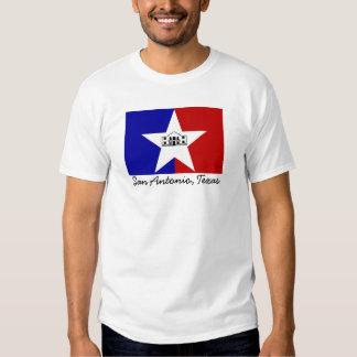 San Antonio Flag T Shirts