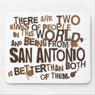 San Antonio (Funny) Gift Mouse Pads