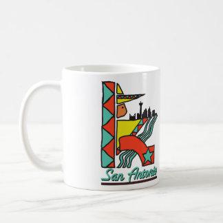 San Antonio Graphic Coffee Mug