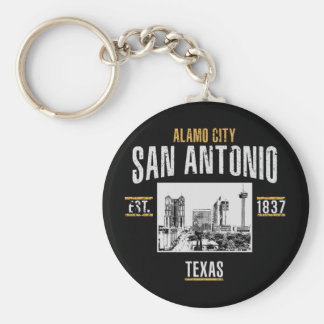 San Antonio Key Ring