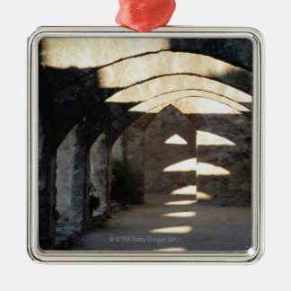 San Antonio Missions Metal Ornament