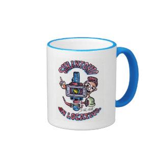 San Antonio On Location Ringer Coffee Mug