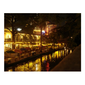 San Antonio River Walk Postcard