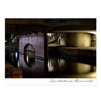San Antonio, Riverwalk Postcard