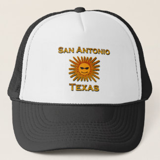 San Antonio Sun Icon Trucker Hat