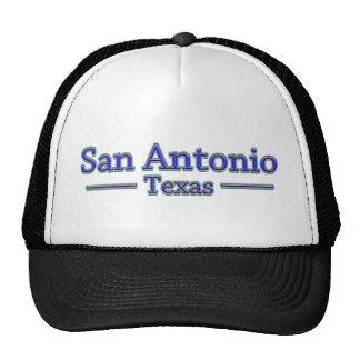 San Antonio Texas in Blue & Red Hats