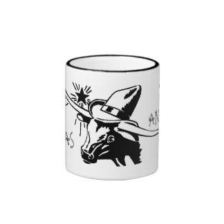San Antonio Texas Longhorn Ceramic Mug