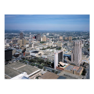 San Antonio Texas Skyline Postcard