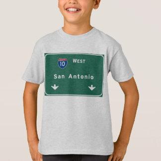 San Antonio Texas tx Interstate Highway Freeway : T-Shirt