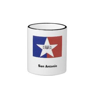 San Antonio, TX Ringer Mug