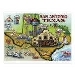 San Antonio TX Postcard