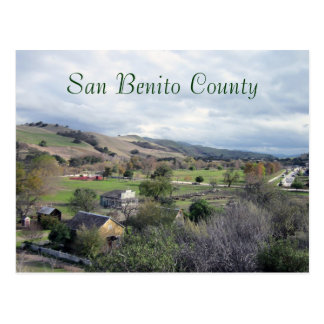 San Benito County Historical and Recreational Park Postcard