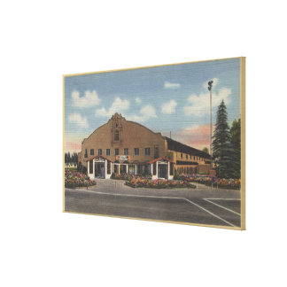 San Bernardino, CA - Home of the National Orange Canvas Print