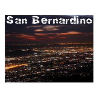 San Bernardino California Postcard