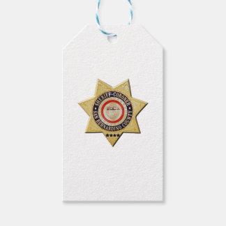 San Bernardino Sheriff-Coroner Gift Tags