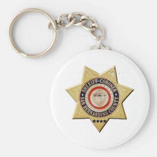 San Bernardino Sheriff-Coroner Key Ring
