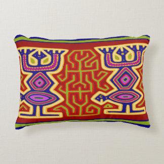 San Blas Island Mola Throw Pillow