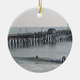 San Clemente California Ceramic Ornament