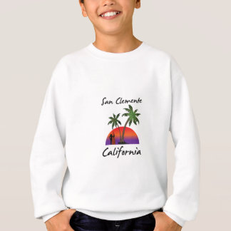 san clemente California Sweatshirt