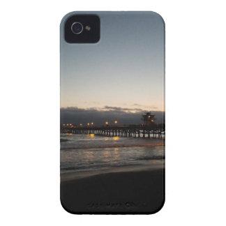 san clemente pier night time ocean california iPhone 4 cover