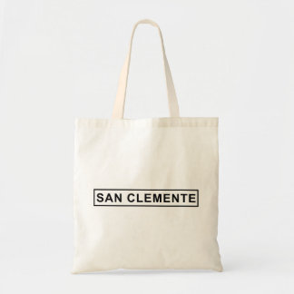 San Clemente Sign Tote Bag
