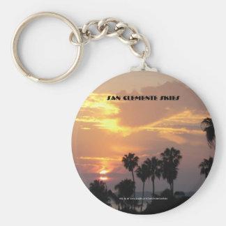 San Clemente Skies - Key Chain Oct.