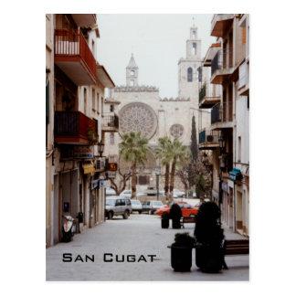 San Cugat Postcard