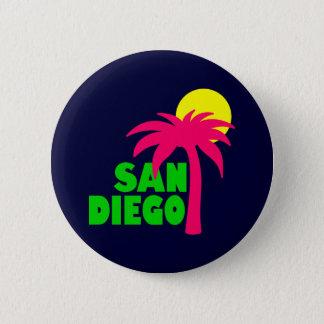 San Diego 6 Cm Round Badge