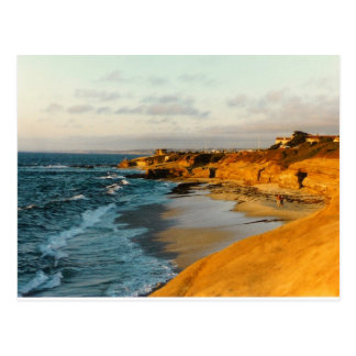 San Diego Beach photo postcard