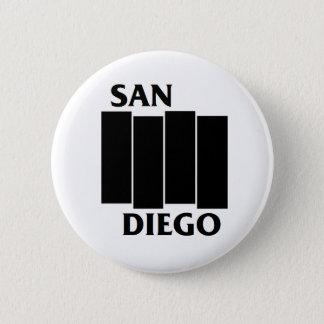 San Diego/Black Flag parody punk button