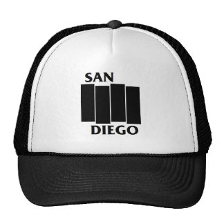 San Diego/Black Flag parody Trucker Hat