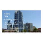 San Diego Buildings High Rise Skyline Business Card Template