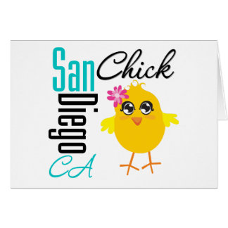 San Diego CA Chick Cards