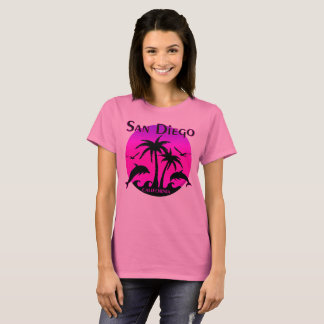 San Diego, CA Hot Pink T-Shirt