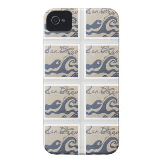 San Diego, CA love design pattern iPhone 4 Cover