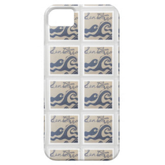 San Diego, CA love design pattern iPhone 5 Covers