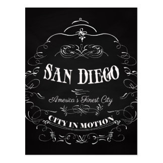 San Diego California, America's Finest City Postcard