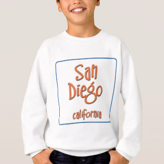 San Diego California BlueBox Sweatshirt
