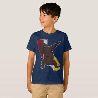 San Diego California Dabbing Bear Dab T-Shirt