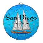 San Diego California Dartboard