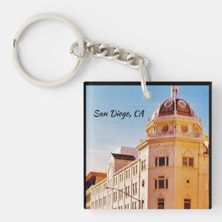 San Diego, California Key Ring