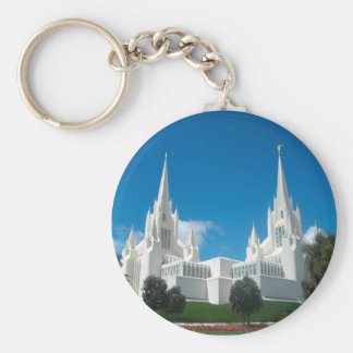 San Diego California LDS Temple Keychain
