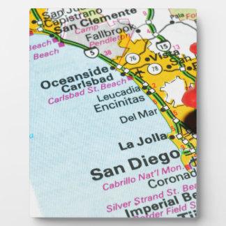 San Diego, California Plaque