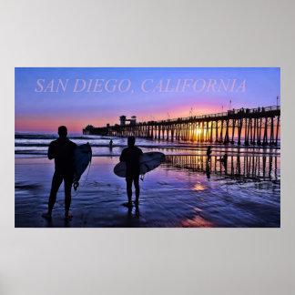 San Diego California Poster
