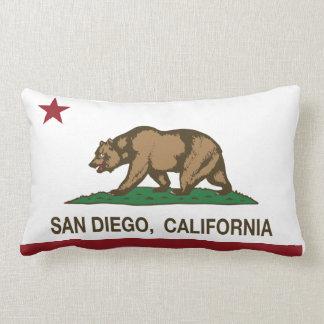 San Diego California state flag Throw Pillow