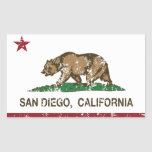San Diego California state flag Sticker