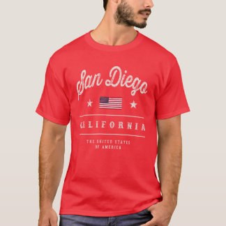 San Diego California USA T-Shirt