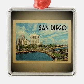 San Diego California Vintage Travel Ornament