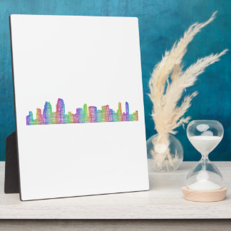 San Diego city skyline Display Plaques