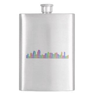 San Diego city skyline Flasks